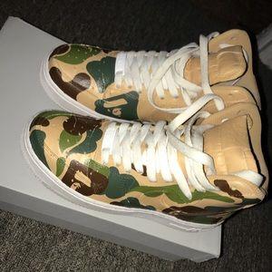 new concept ce3b8 33a89 Nike Shoes - CUSTOM NIKE BAPE AF1